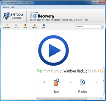 Windows Backup Recovery Screencast